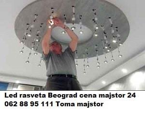 Led rasveta Beograd cena majstor 24