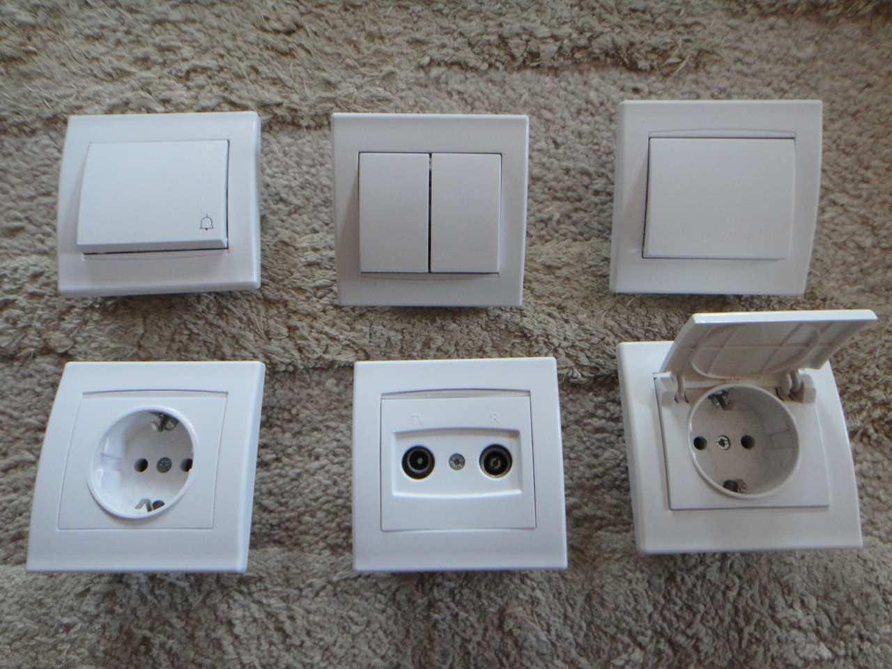 Električni prekidači u domaćinstvu