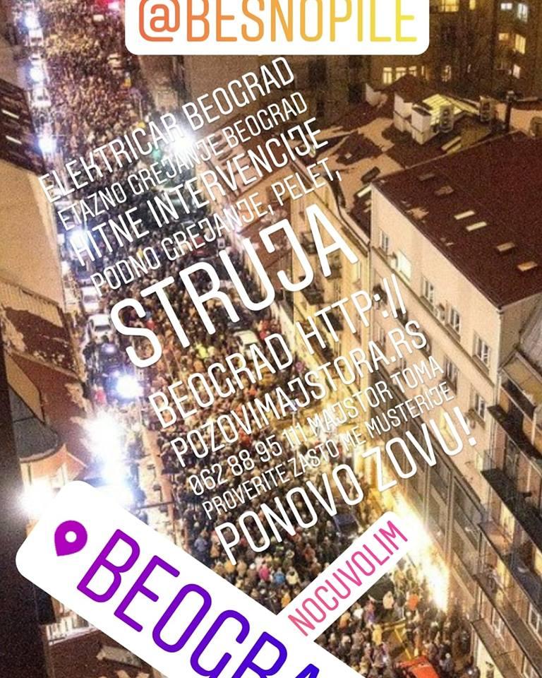 Ušrafljivanje montaža Hausmajstor Beograd