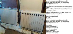 Kupatilski radijatori sušači Dedinje