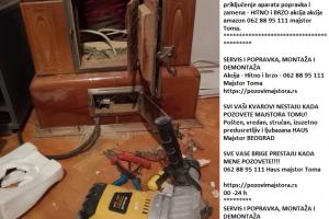 Cenovnik usluga majstor Beograd