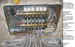 Struja instalacija električni kotao