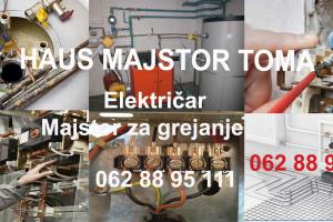 Majstor elektricar cena Beograd