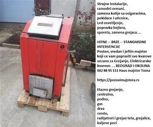 Elektro servis Beograd cenovnik non stop