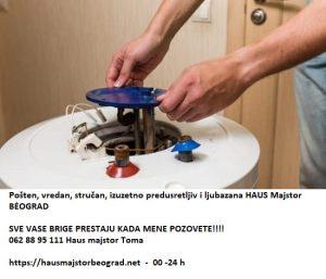 Majstor za bojler cenovnik Beograd 24h