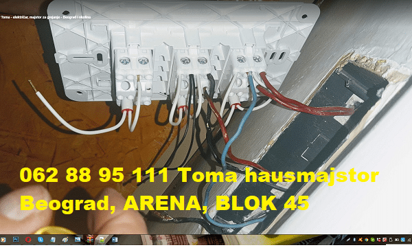 Izvodjenje nove elektro-instalacije Beograd majstor