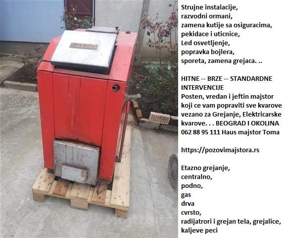 Najčešći kvarovi oglasi Beograd cenovnik 24h