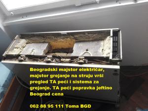 TA peći popravka jeftino Beograd cena