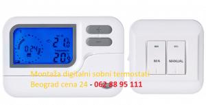 Montaža digitalni sobni termostati Beograd cena 24