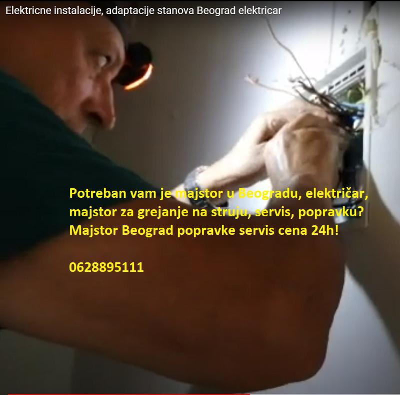Majstor Beograd popravke servis cena 24h!