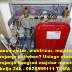 Izgoreo nulti provodnik na grejacu Beograd