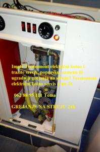 Termomont električni kotao servis cena 24